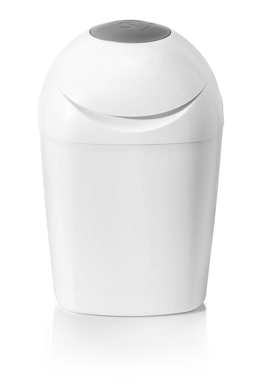 Cubo para pañales con sistema de enrollado individual antiolores con cierre hermético